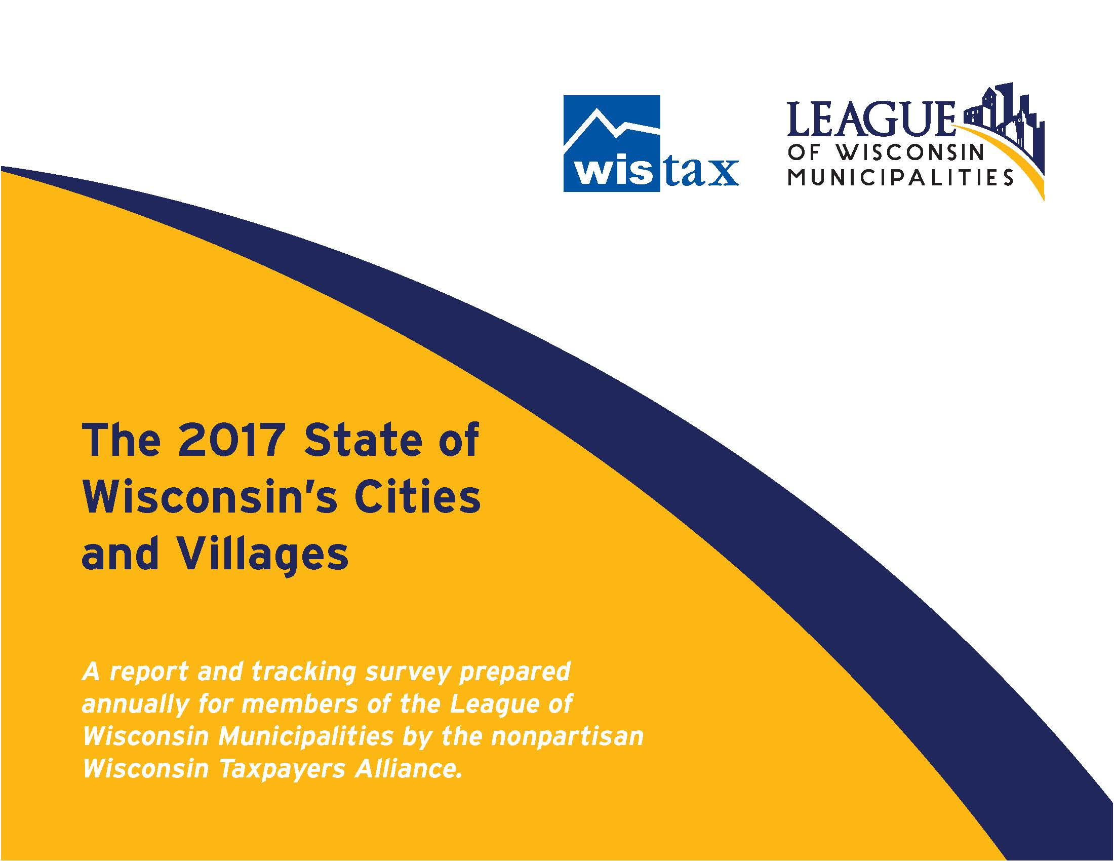 cover 2017 State of WI Cities and Villages report
