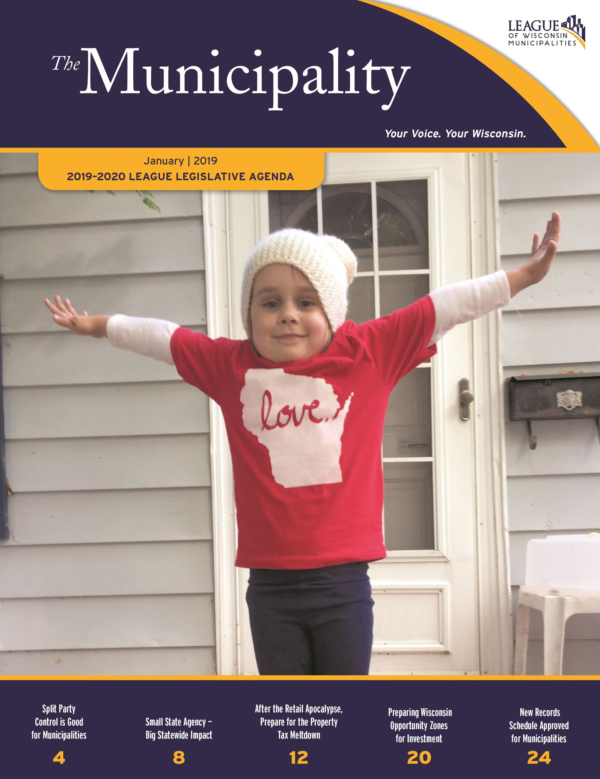Adorable Mag Cover 2019-2020 Legislative Agenda