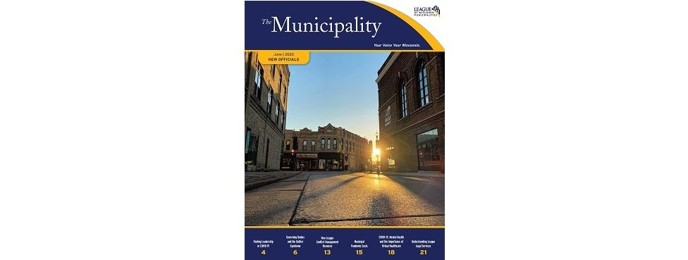 6 20 The Municipality New Officials Cover Oshkosh Downtown
