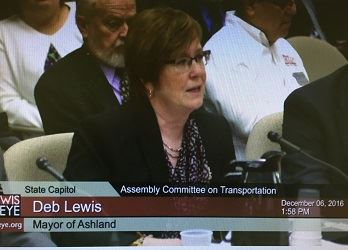 Mayor Lewis testimony